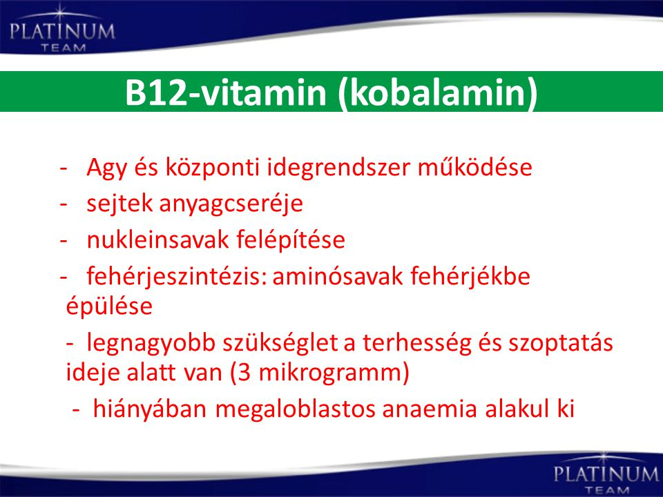 B12-vitamin (kobalamin)