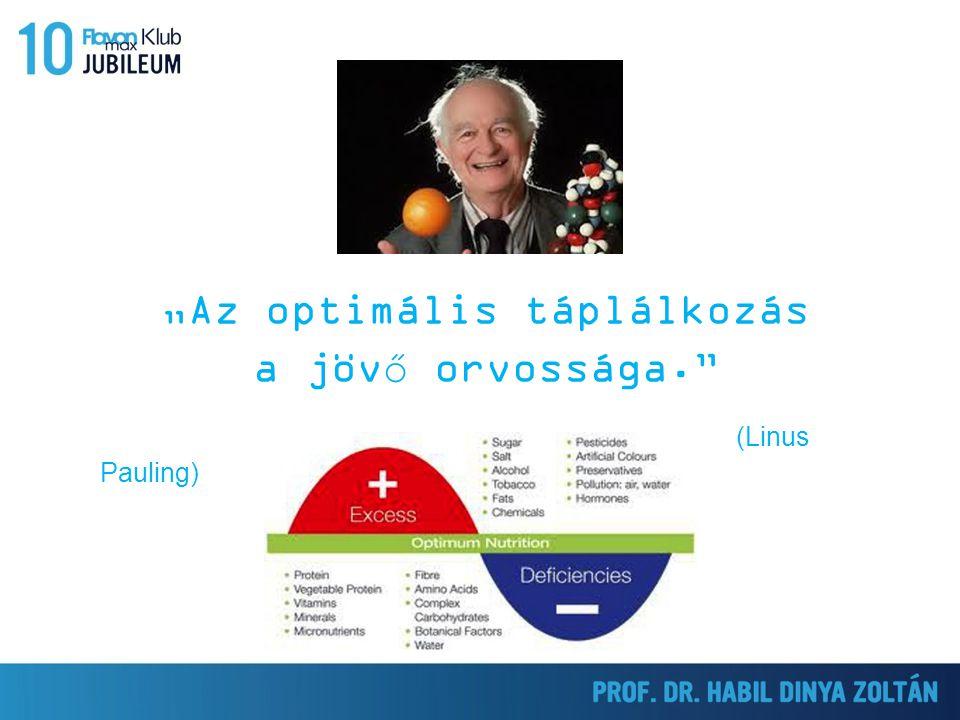 """""""Az optimális táplálkozás a jövő orvossága. (Linus Pauling)"""