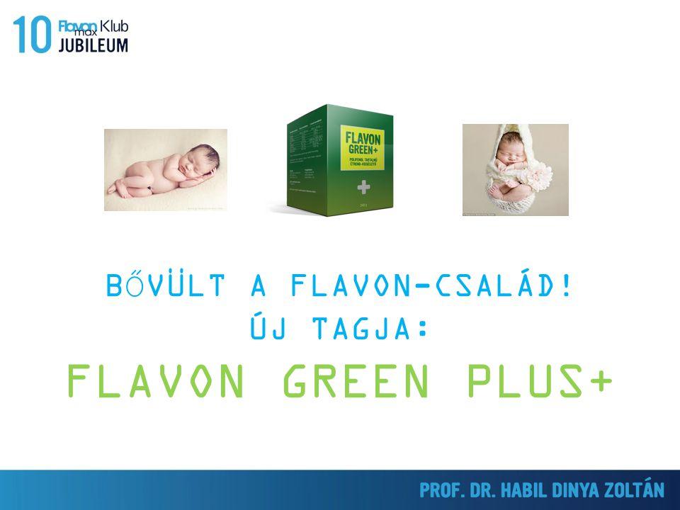 BŐVÜLT A FLAVON-CSALÁD! ÚJ TAGJA: FLAVON GREEN PLUS+
