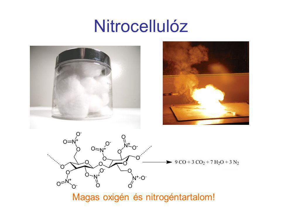 Magas oxigén és nitrogéntartalom!