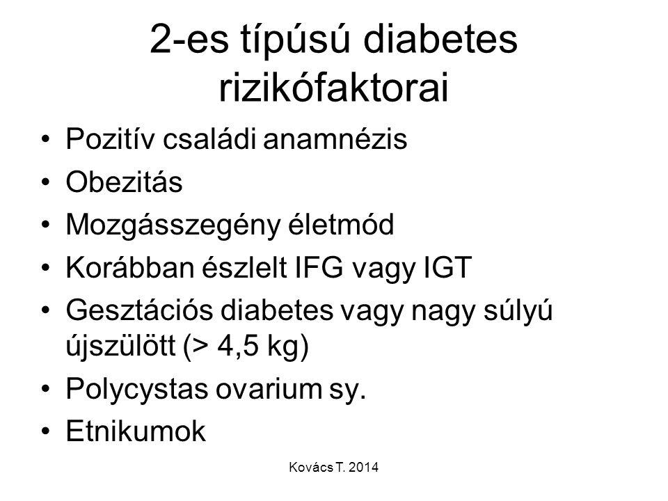 2-es típúsú diabetes rizikófaktorai