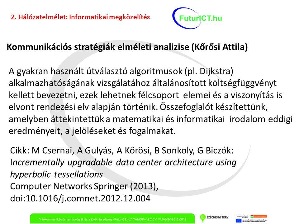 Kommunikációs stratégiák elméleti analizise (Kőrősi Attila)