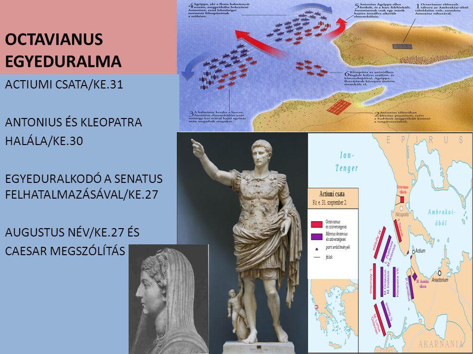 OCTAVIANUS EGYEDURALMA