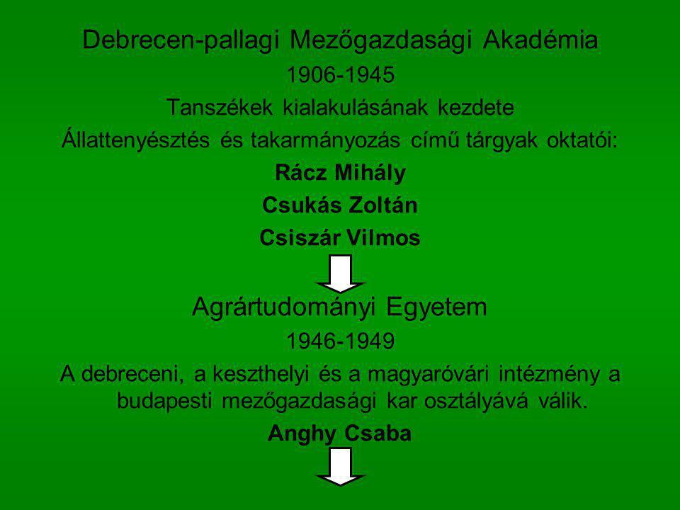 Debrecen-pallagi Mezőgazdasági Akadémia