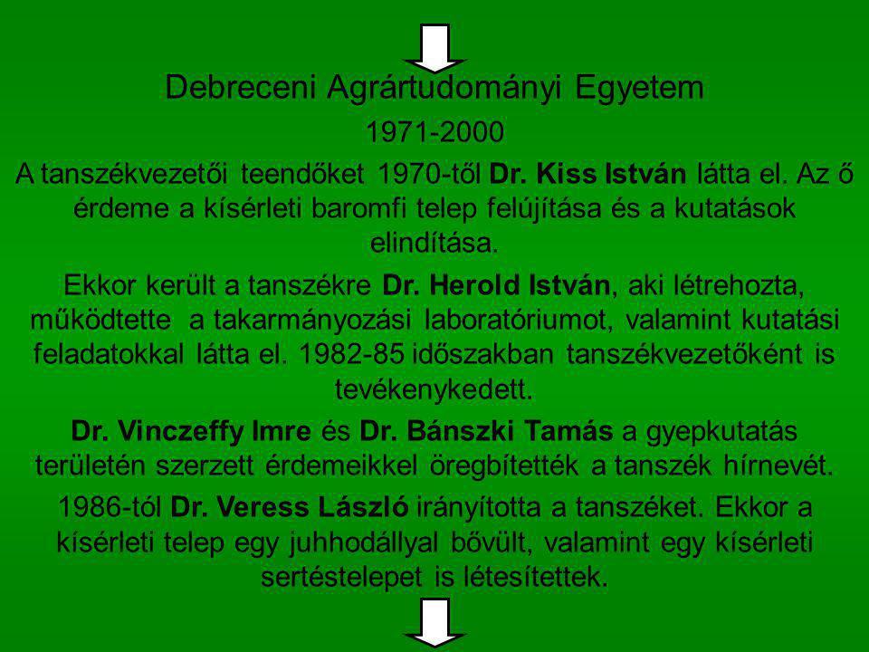 Debreceni Agrártudományi Egyetem