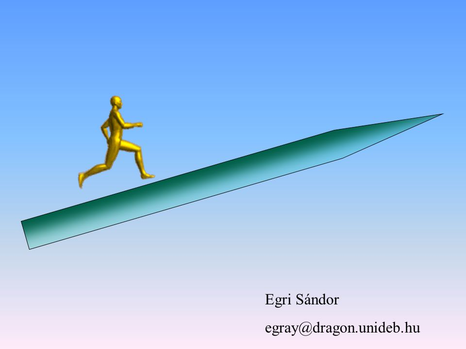 Egri Sándor egray@dragon.unideb.hu
