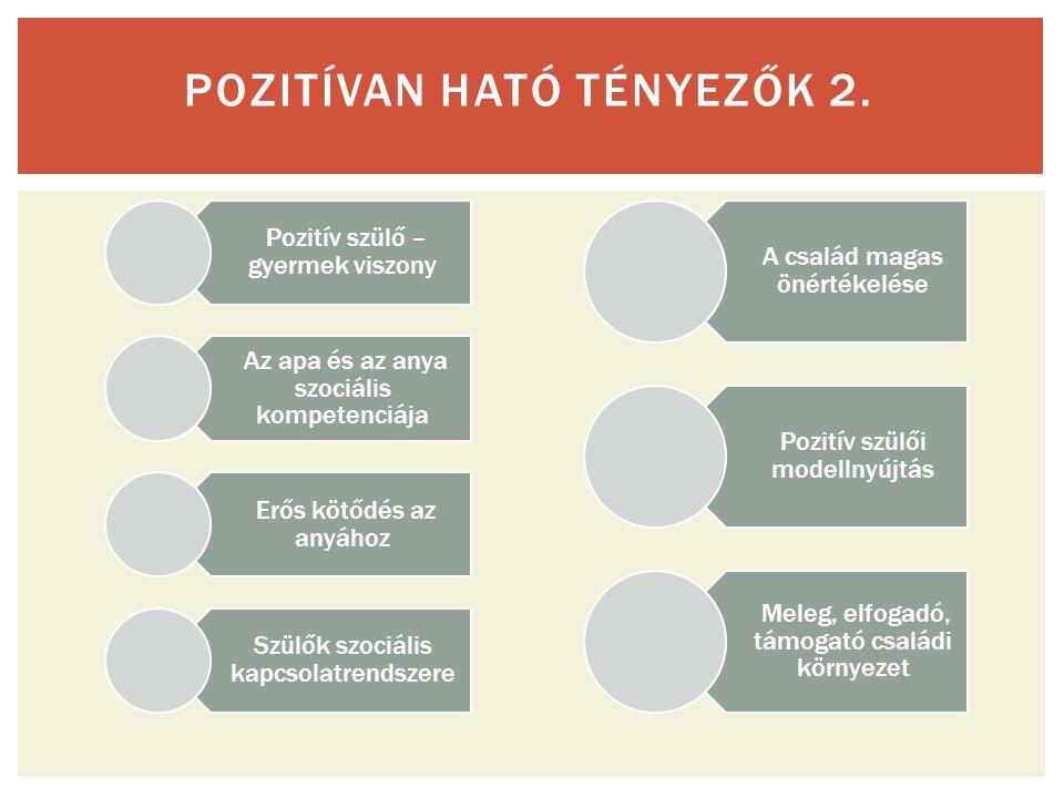 POZITÍVAN HATÓ TÉNYEZŐK 2.