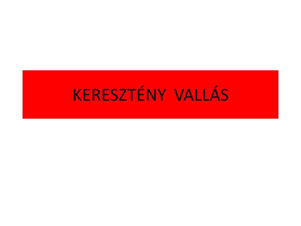 KERESZTÉNY VALLÁS