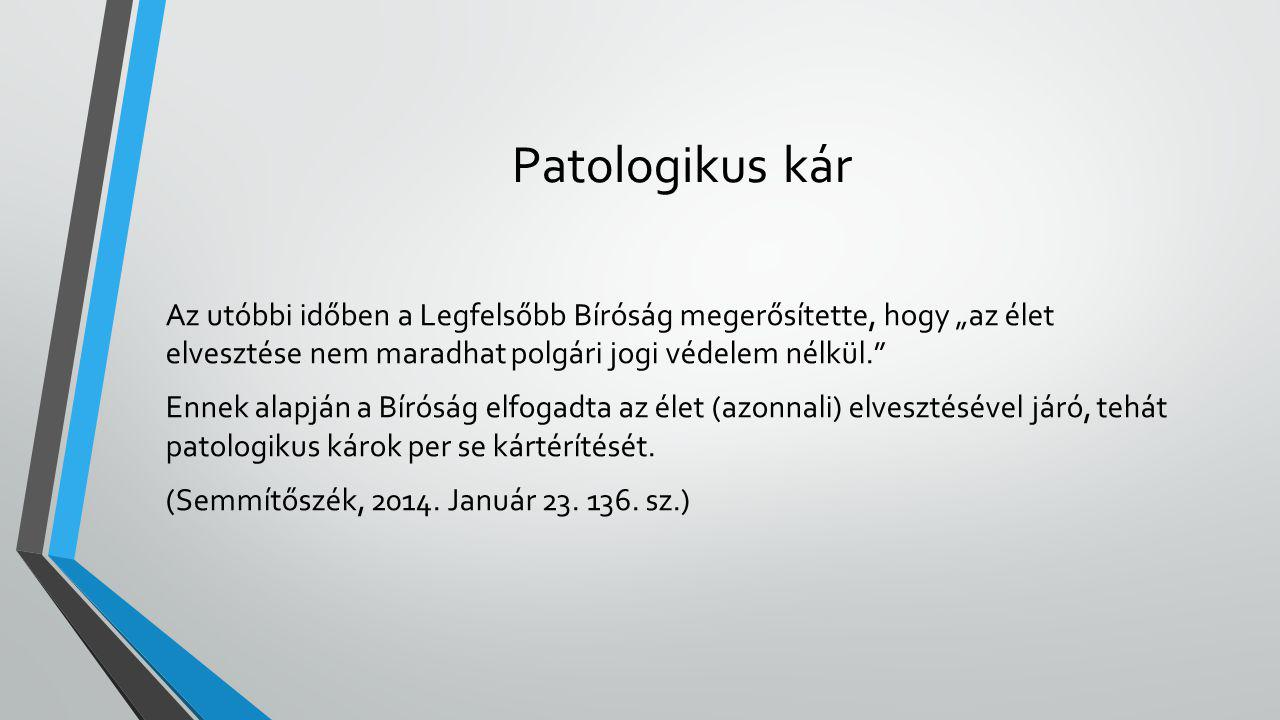 Patologikus kár
