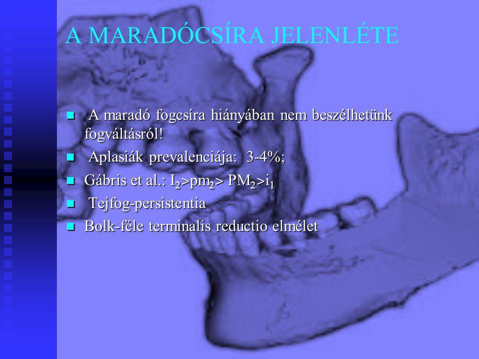 A MARADÓCSÍRA JELENLÉTE