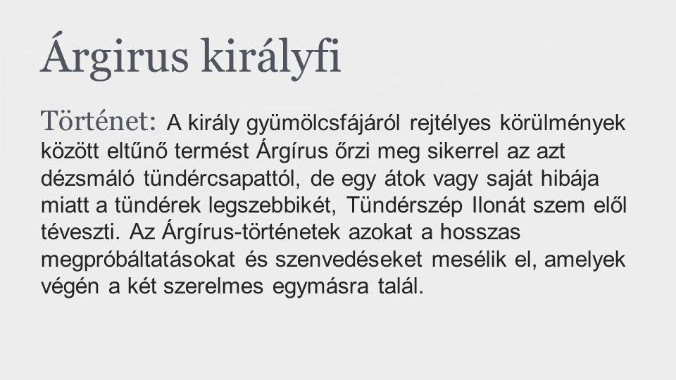 Árgirus királyfi