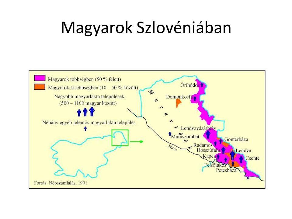 Magyarok Szlovéniában