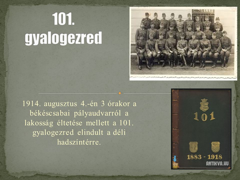 101. gyalogezred