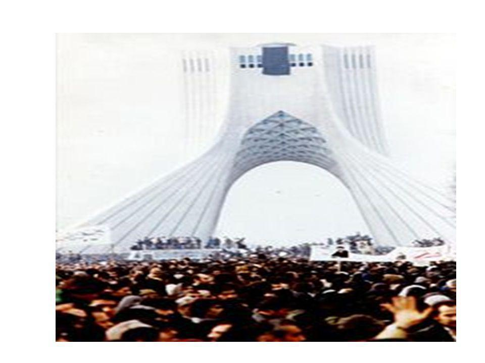 Az izslám forradalmi emlékműve Teheránban