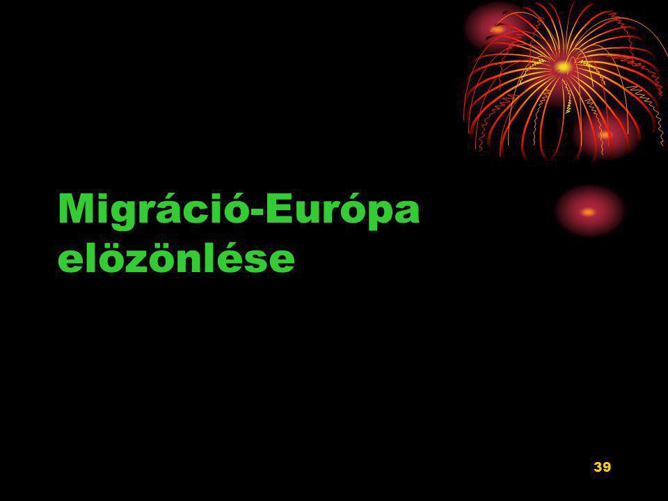 Migráció-Európa elözönlése