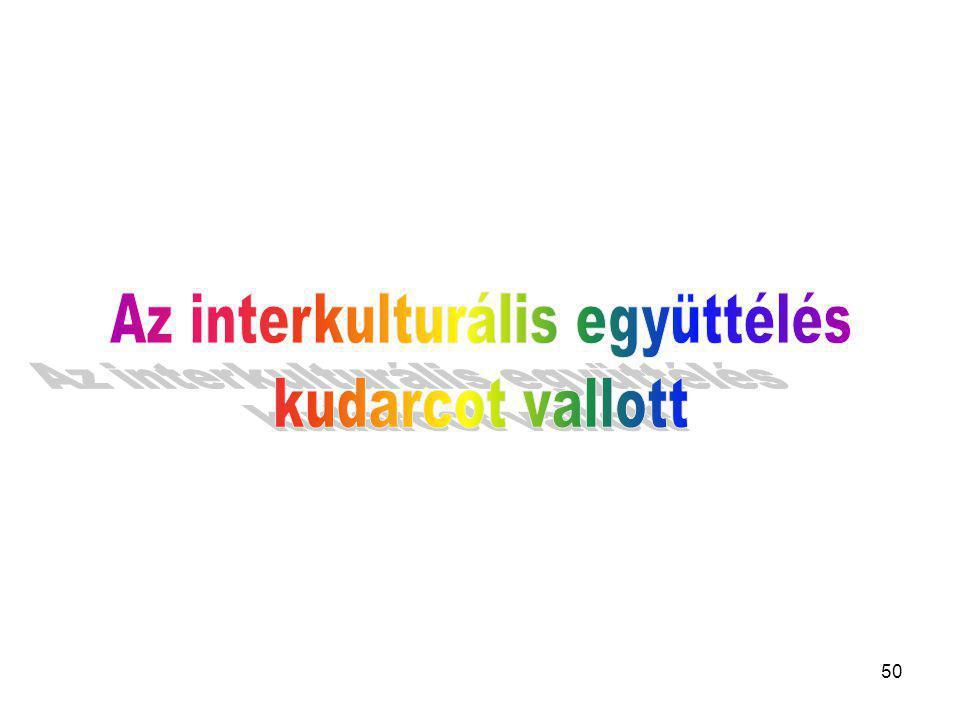 Az interkulturális együttélés
