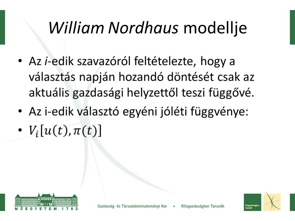 William Nordhaus modellje