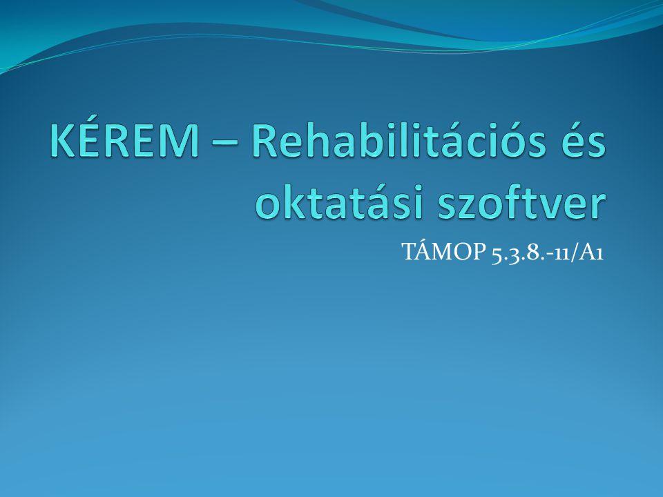 KÉREM – Rehabilitációs és oktatási szoftver