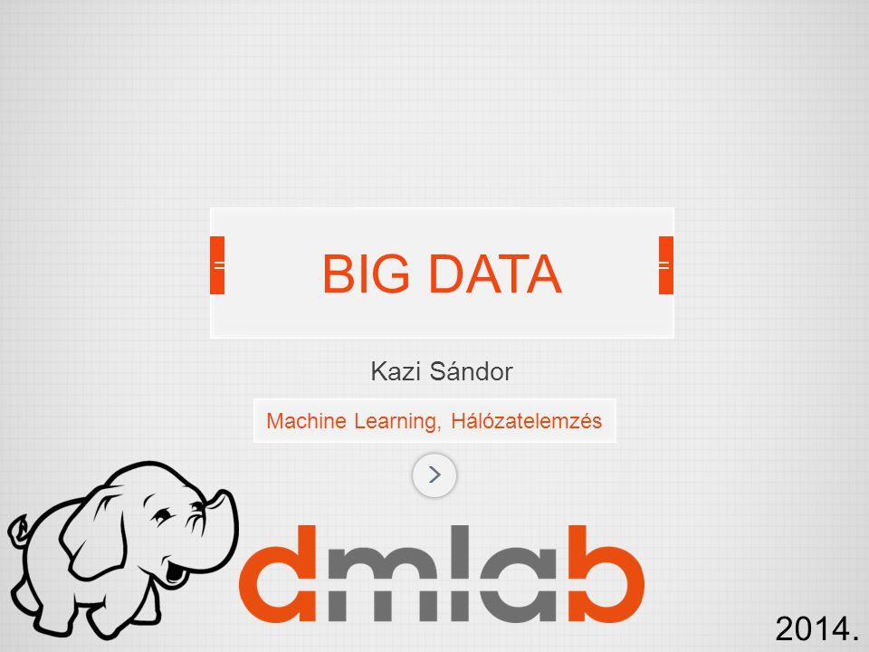 Machine Learning, Hálózatelemzés