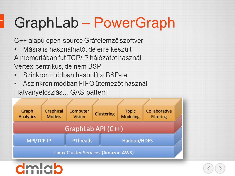 GraphLab – PowerGraph C++ alapú open-source Gráfelemző szoftver
