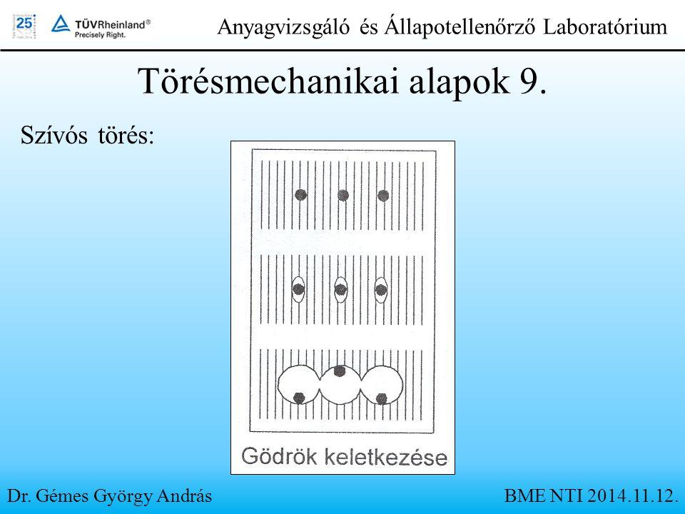 Törésmechanikai alapok 9.