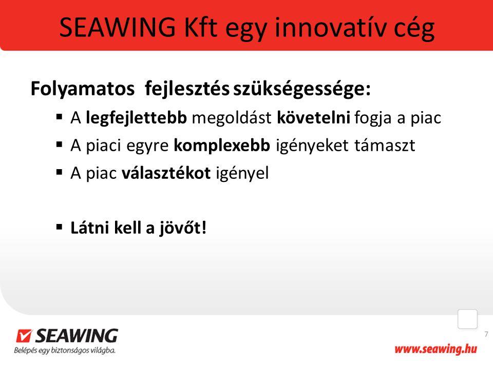 SEAWING Kft egy innovatív cég