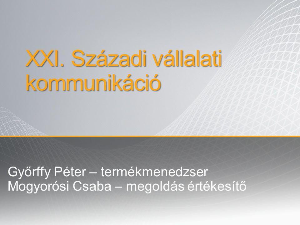 XXI. Századi vállalati kommunikáció