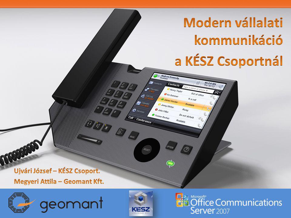 Modern vállalati kommunikáció a KÉSZ Csoportnál