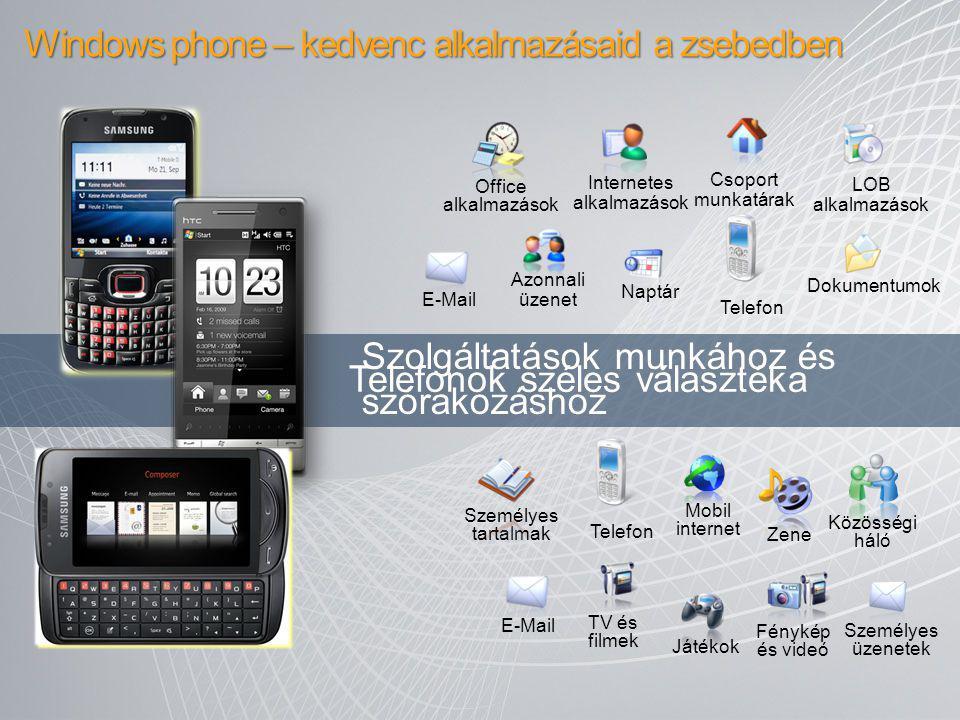 Windows phone – kedvenc alkalmazásaid a zsebedben