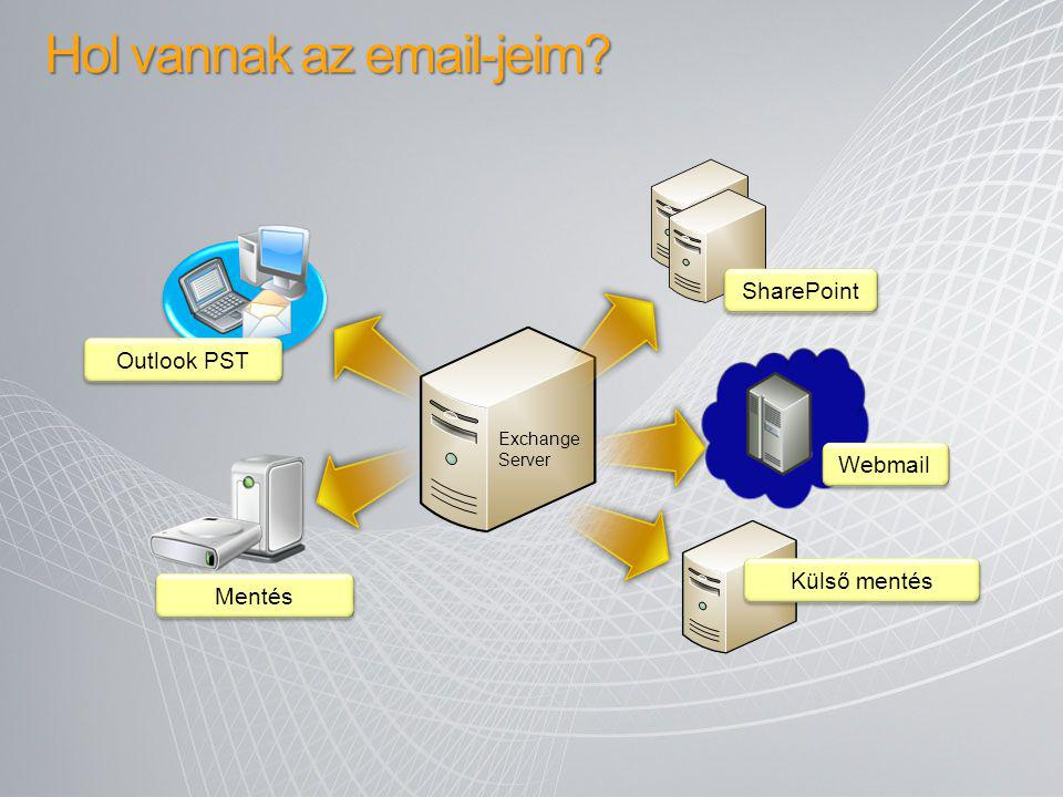 Hol vannak az email-jeim