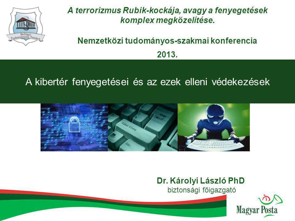 A kibertér fenyegetései és az ezek elleni védekezések