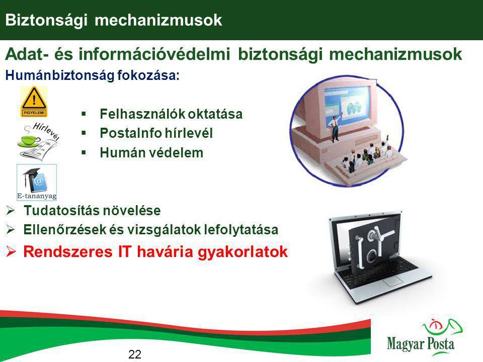 Biztonsági mechanizmusok