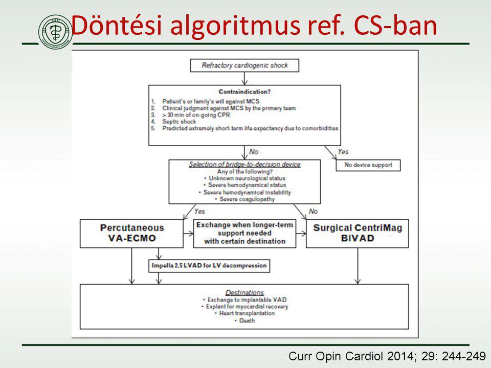 Döntési algoritmus ref. CS-ban