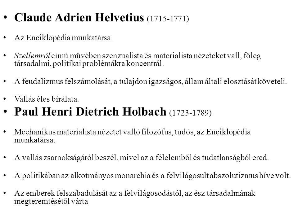 Claude Adrien Helvetius (1715-1771)