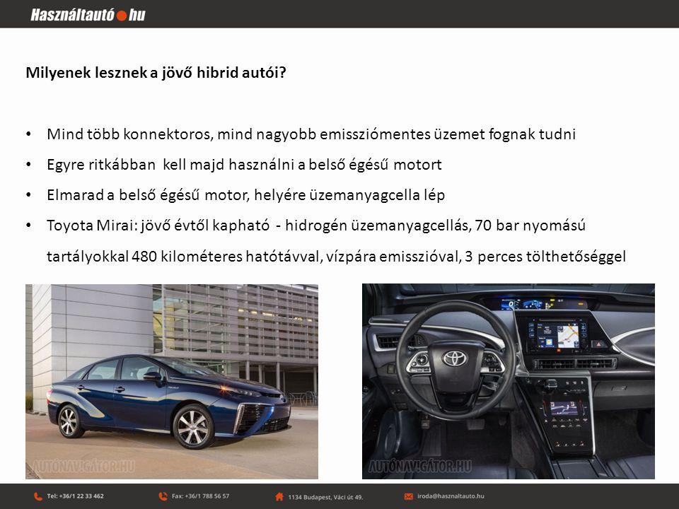 Milyenek lesznek a jövő hibrid autói