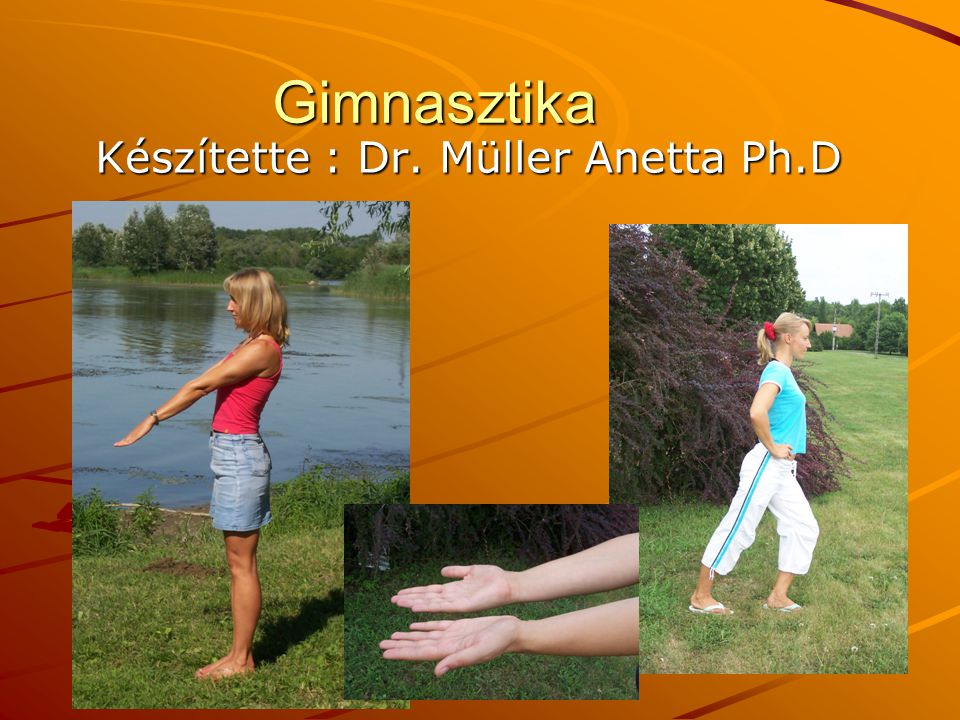 Készítette : Dr. Müller Anetta Ph.D