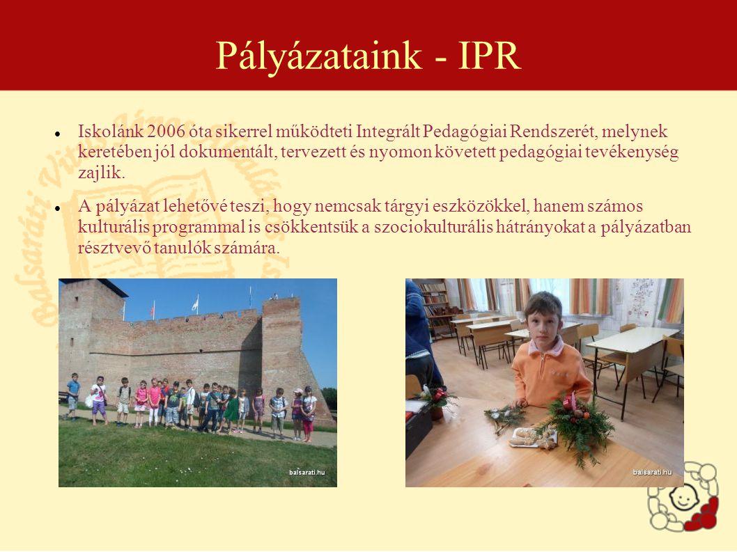 Pályázataink - IPR