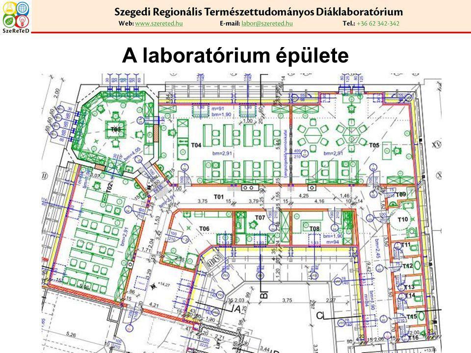 A laboratórium épülete