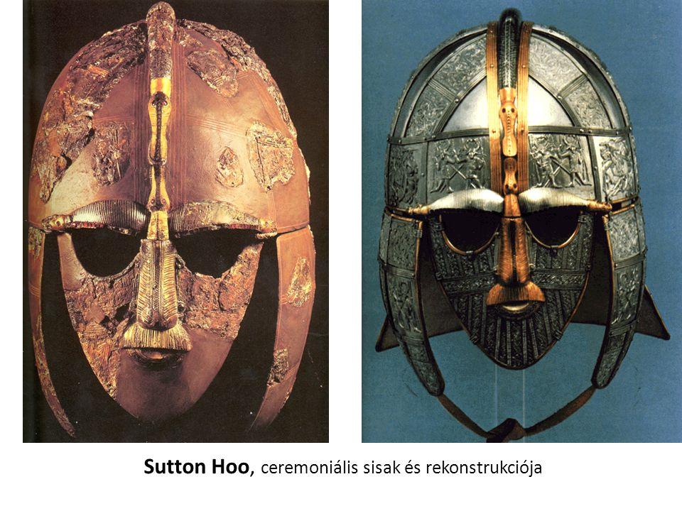 Sutton Hoo, ceremoniális sisak és rekonstrukciója