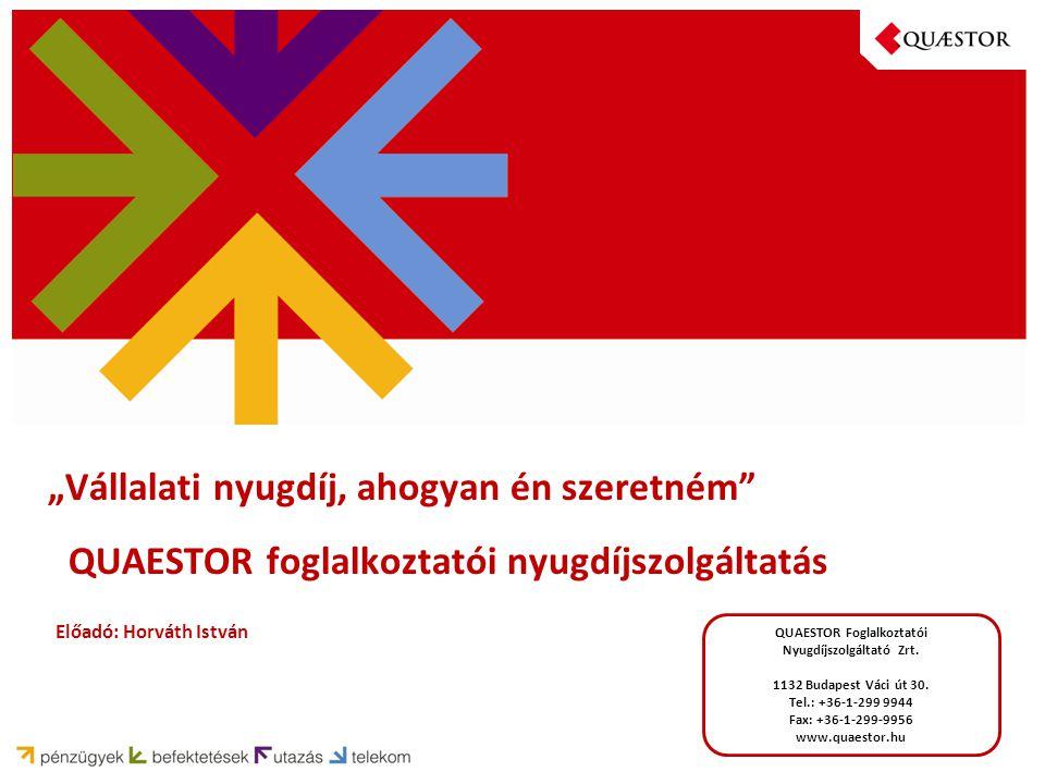 QUAESTOR Foglalkoztatói Nyugdíjszolgáltató Zrt.