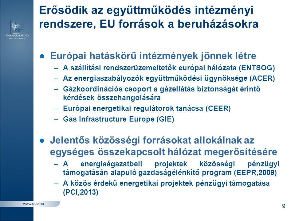 Erősödik az együttműködés intézményi rendszere, EU források a beruházásokra