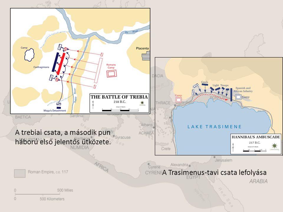 A trebiai csata, a második pun háború első jelentős ütközete.
