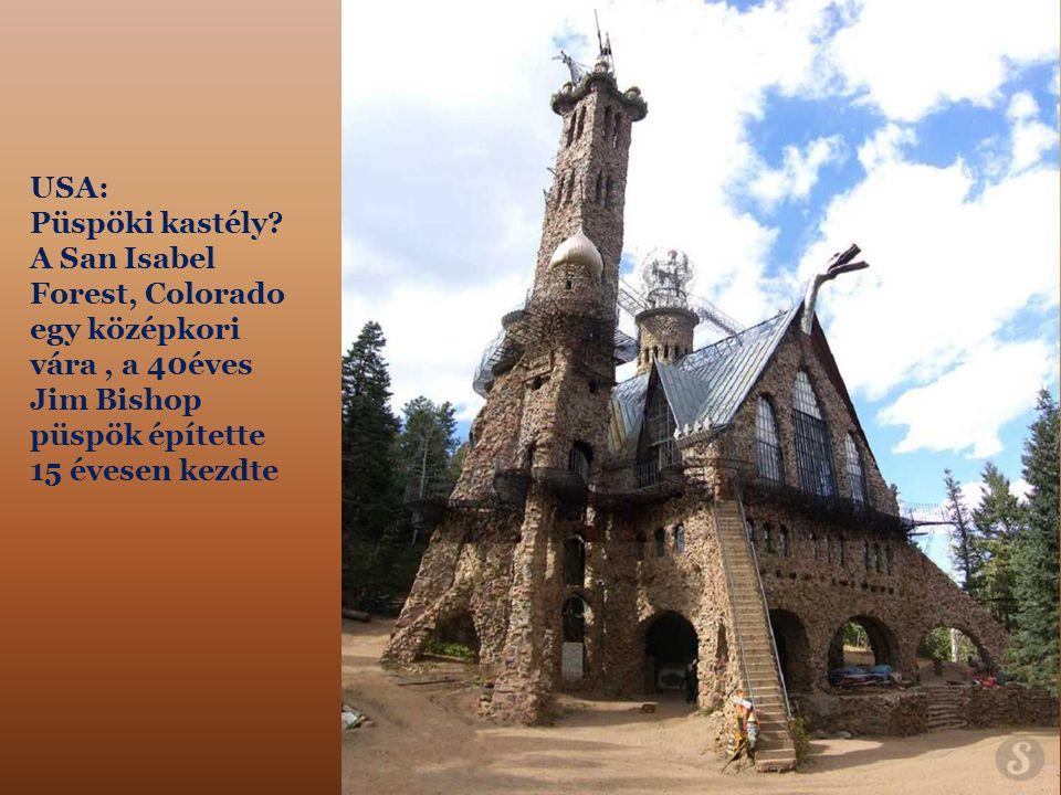USA: Püspöki kastély.