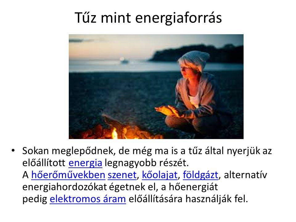 Tűz mint energiaforrás