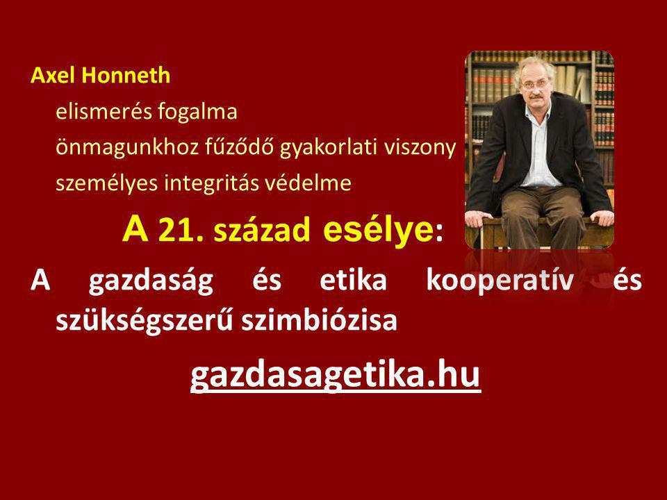 gazdasagetika.hu A 21. század esélye: