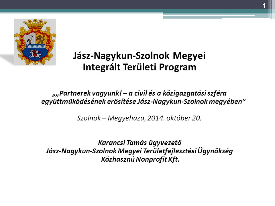 Jász-Nagykun-Szolnok Megyei Integrált Területi Program