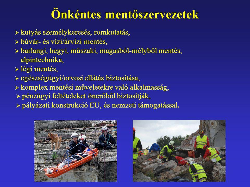 Önkéntes mentőszervezetek