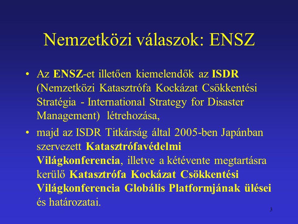 Nemzetközi válaszok: ENSZ