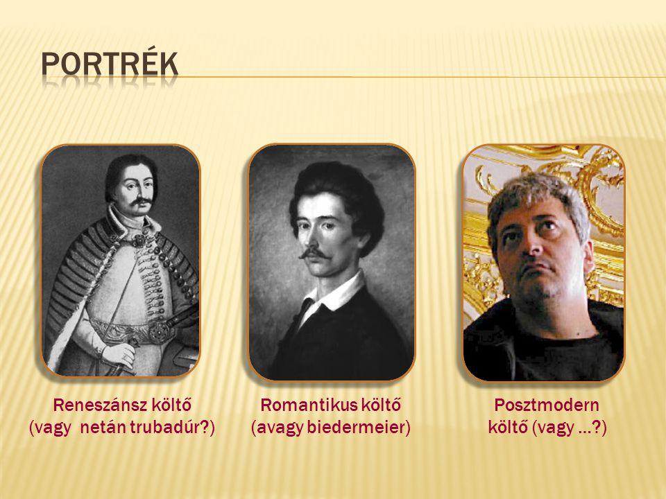 PORTRÉK Reneszánsz költő (vagy netán trubadúr )