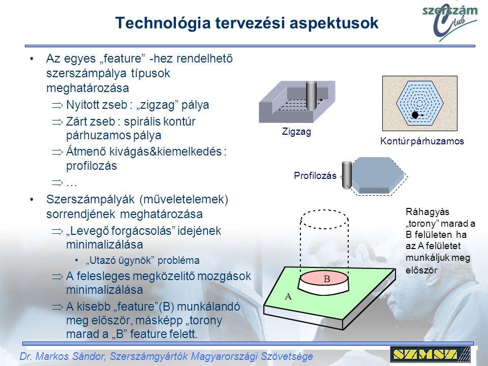 Technológia tervezési aspektusok